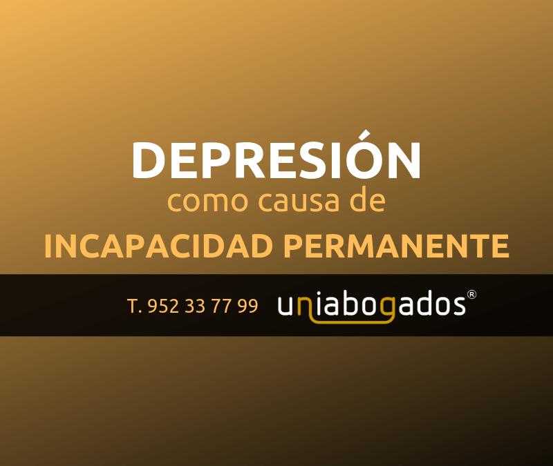 Depresión como causa de incapacidad permanente