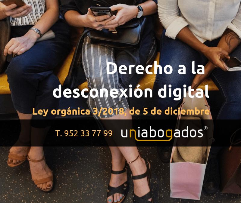 Derecho a la desconexión digital en el trabajo